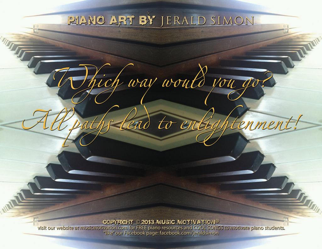 Piano Art #1by Jerald Simon - Music Motivation